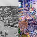 東京城市風貌-今昔大比較!