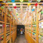 【埼玉景點】川越冰川神社結緣風鈴祭!2,000個戀愛心願隨風搖曳