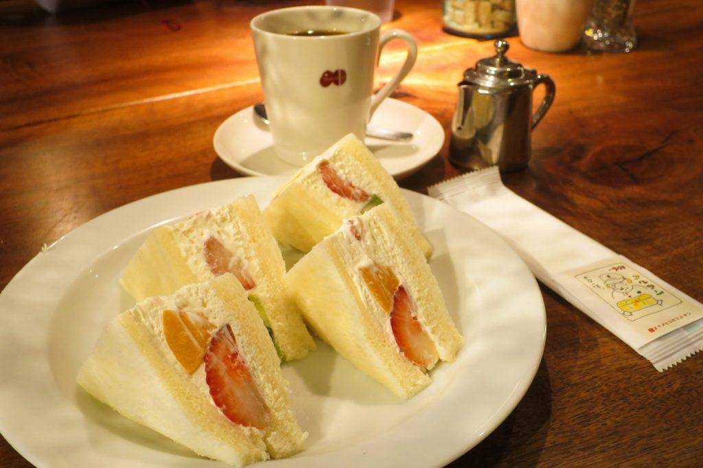 三軒茶屋 水果三明治