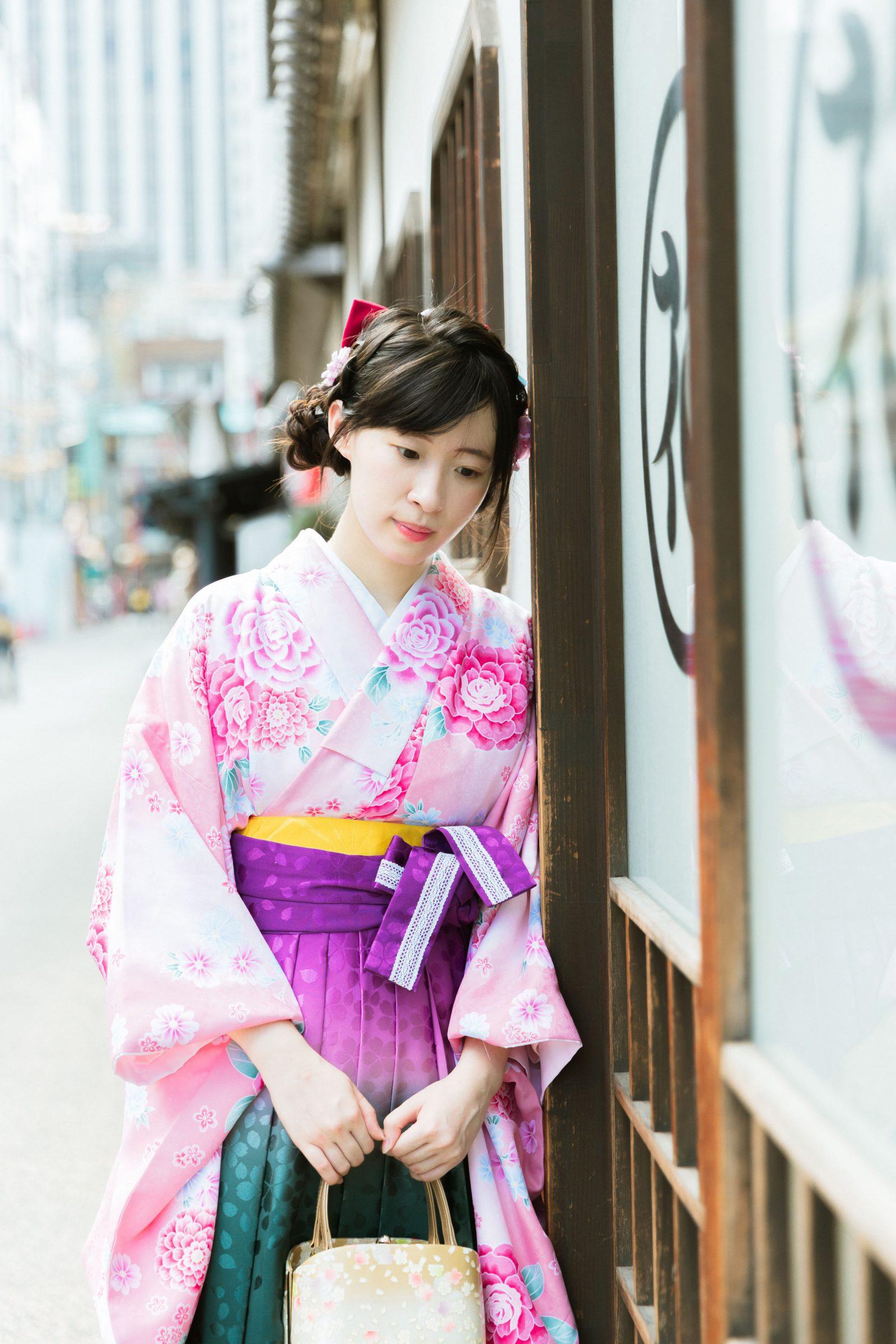 日本畢業典禮穿的「卒業袴」!江戶和裝工房雅上野分店一日體驗