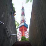 東京鐵塔階梯拍攝地