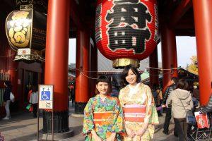 【東京自由行】一日和服租借體驗!學櫻花妹漫步淺草小徑