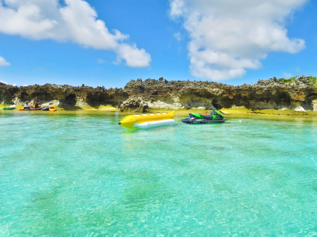 鹿兒島與論島「百合之濱」海中夢幻沙灘!交通.預測時間整理