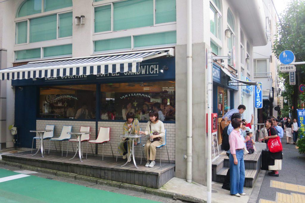 澀谷巷弄咖啡店!「COFFEEHOUSE NISHIYA」奶油焦糖布丁&冰拿鐵