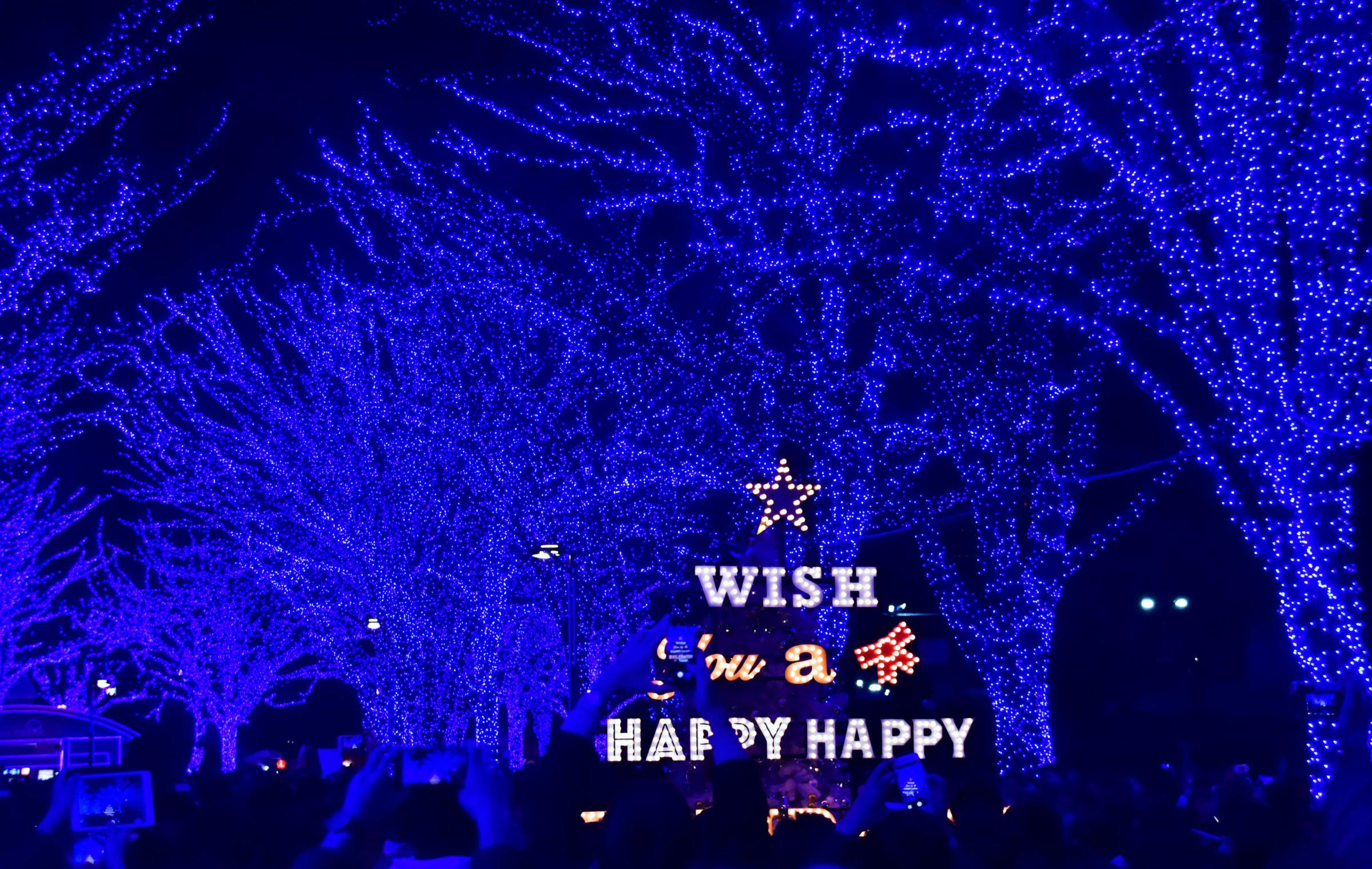 東京冬季浪漫點燈!「2018青之洞窟SHIBUYA」藍色燈海點燈日期時間