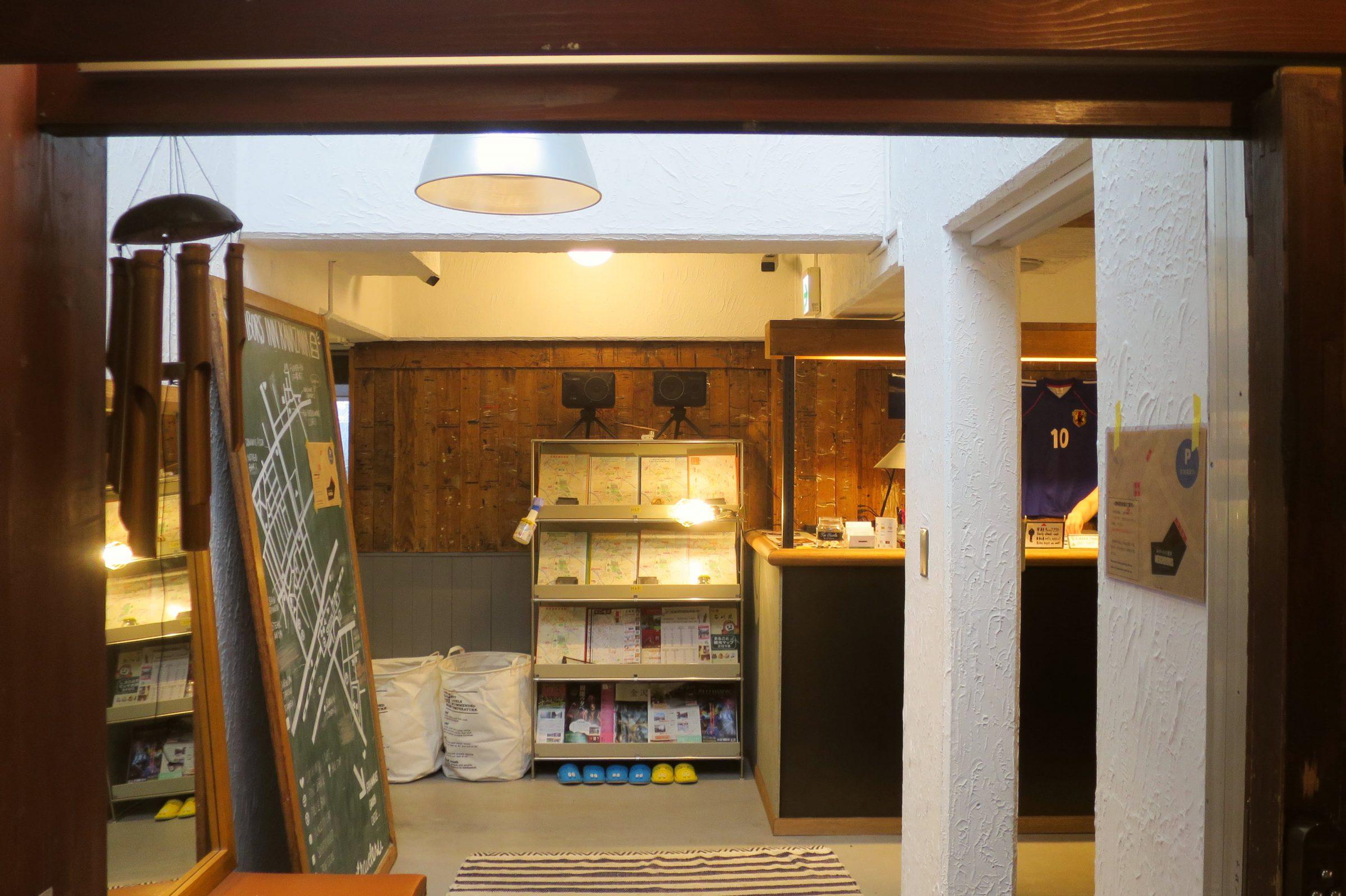 金澤車站住宿推薦!美式簡約風格青年旅館「Neighbors Inn Kanazawa」