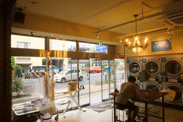 洗衣房 + 咖啡店!東京目黑區新式洗衣房「Freddy Leck」