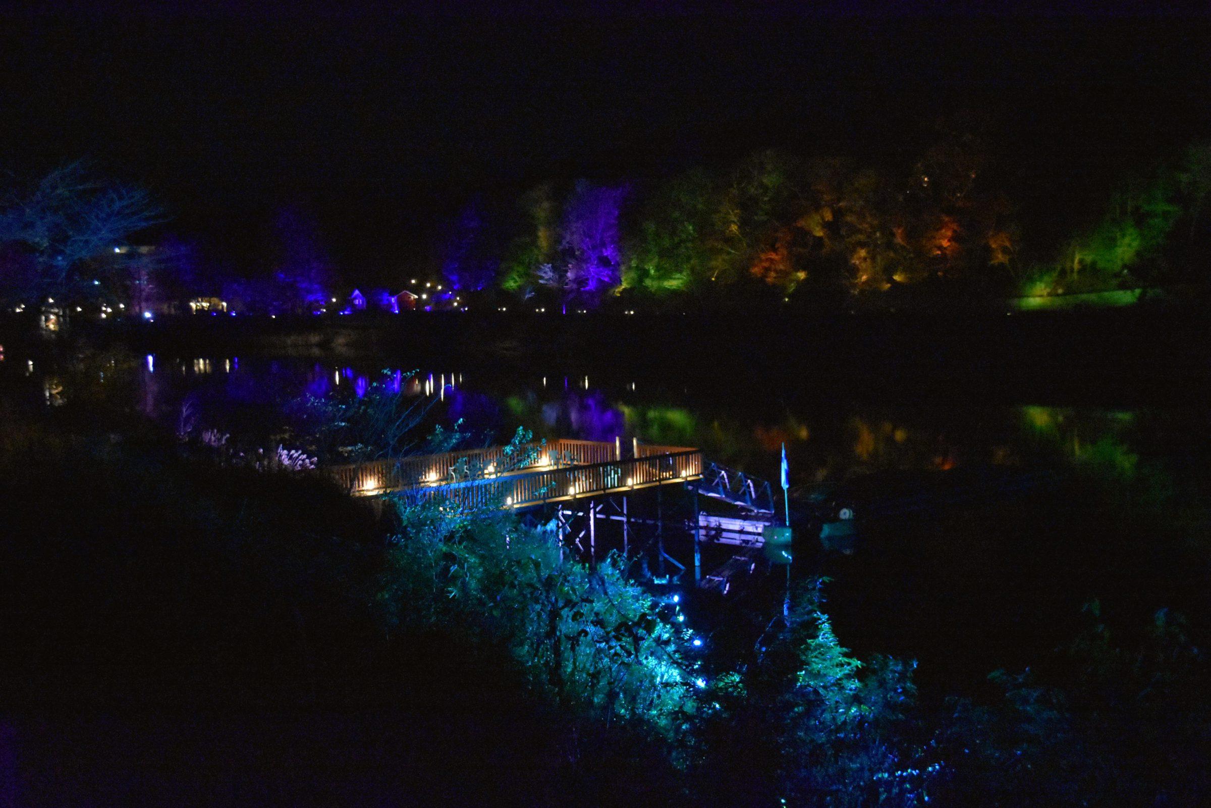 期間限定!埼玉飯能北歐風森林村metsä village「teamLab森與湖的光之祭」