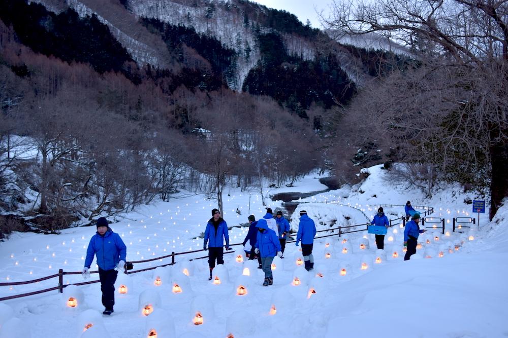 2019湯西川溫泉かまくら祭!日本夜景遺產認定夢幻雪屋點燈