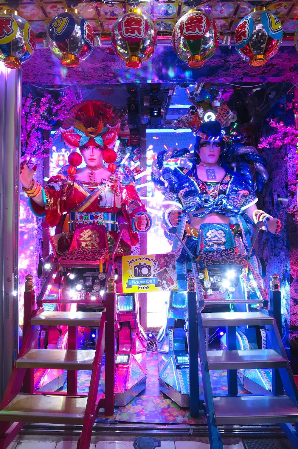【東京新宿】歌舞伎町機器人餐廳!實際走訪精彩聲光秀