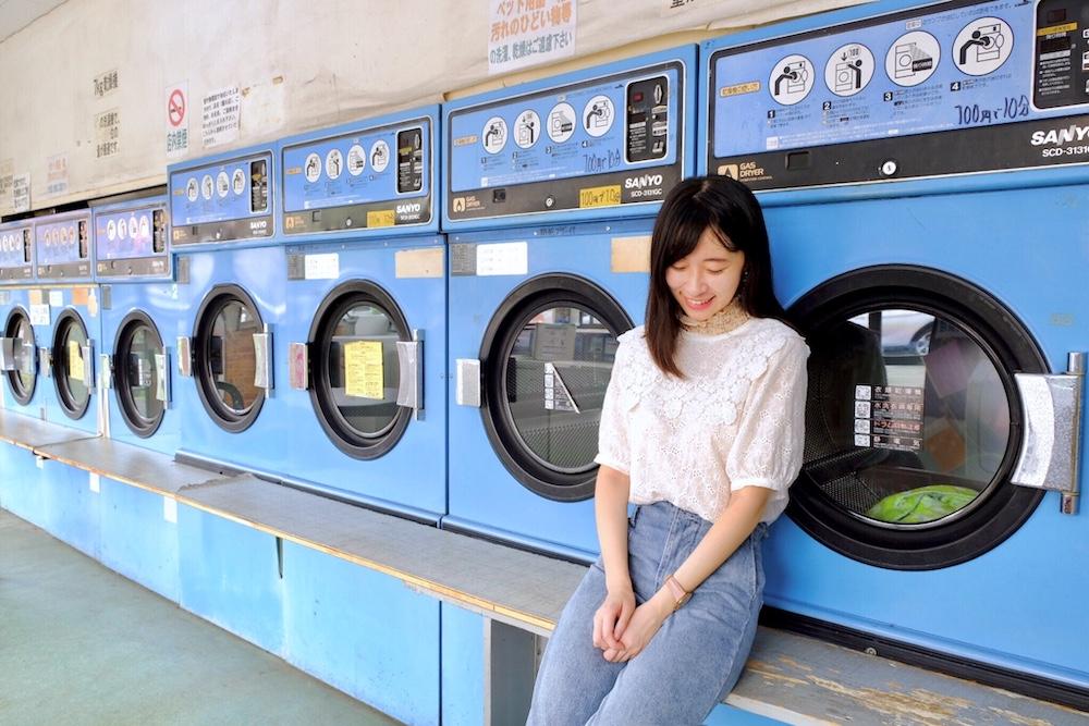 コインランドリー洗濯天国(第2集取景地)