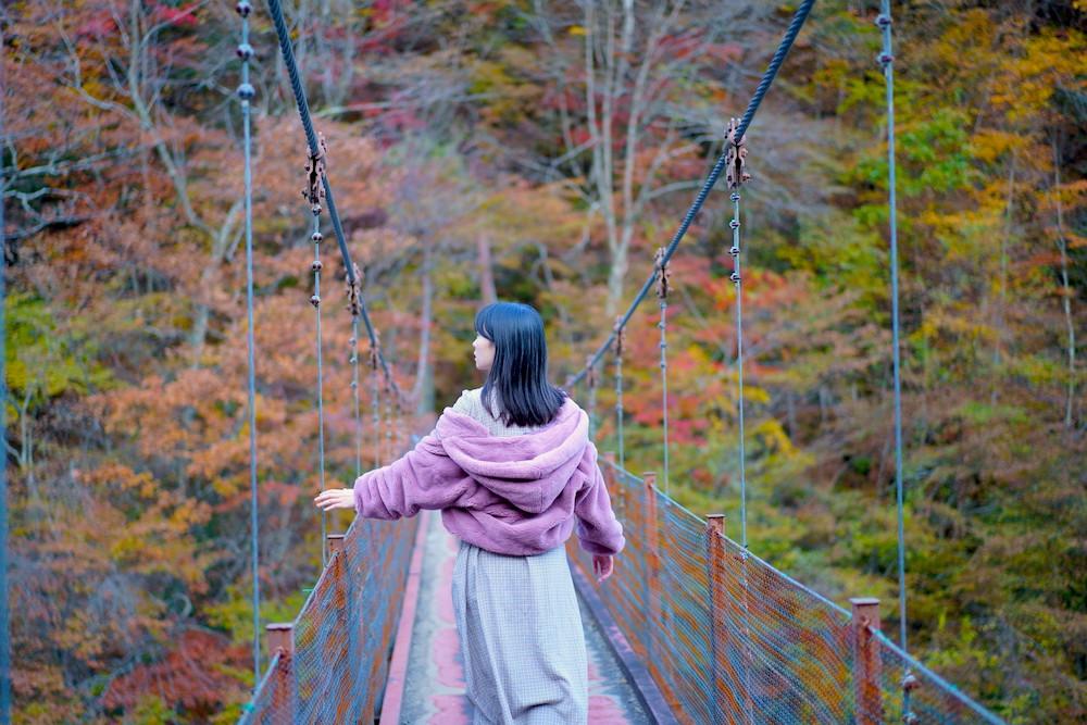 關東私藏賞楓秘境:山梨・西澤溪谷「七釜五段瀑布」紅葉絕景