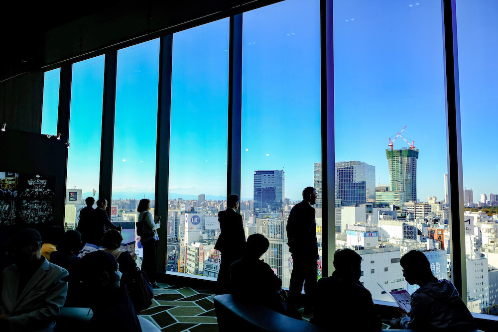 Shibuya Scramble Square12樓