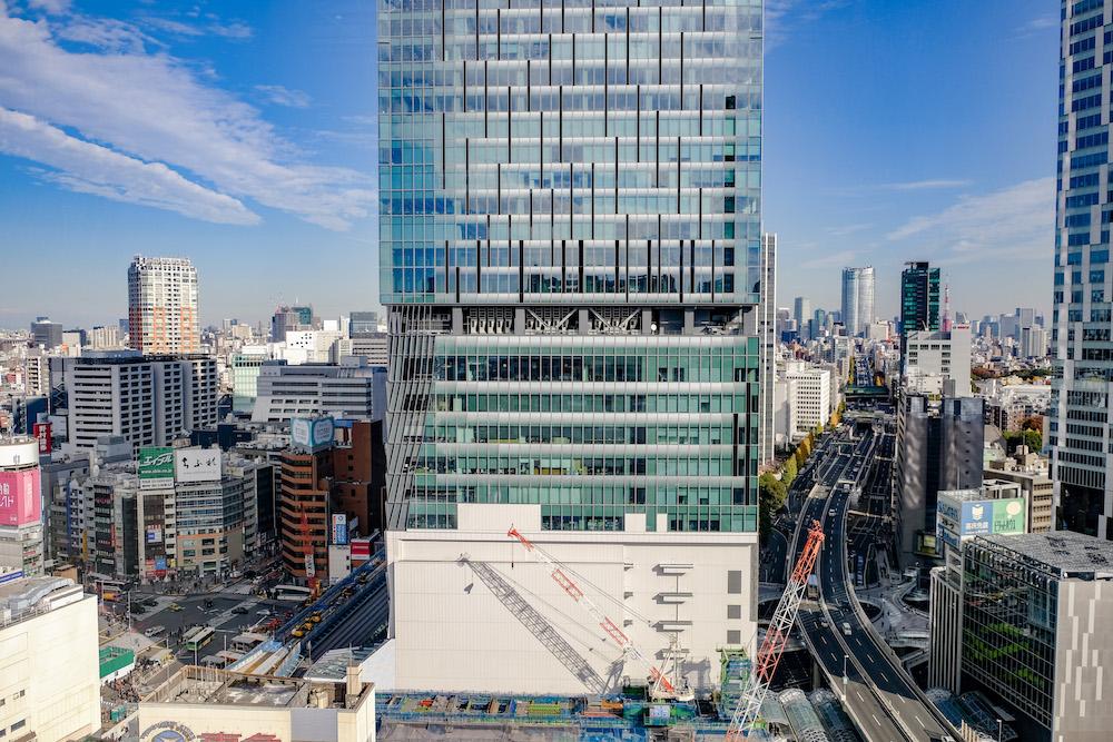 東急Plaza澀谷屋上庭園