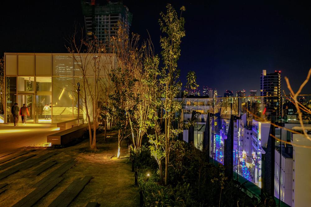 澀谷Parco屋上廣場