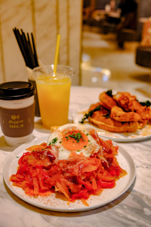 機器人咖啡廳「Pepper PARLOR」餐點
