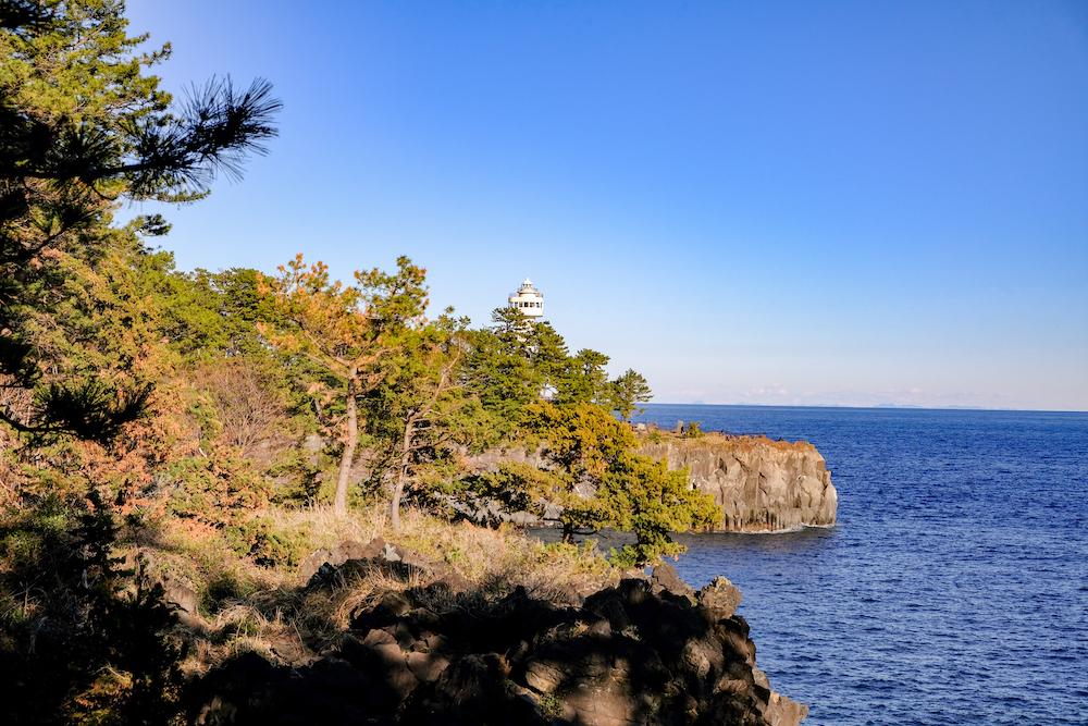 靜岡伊豆景點「城崎海岸」沿海景觀