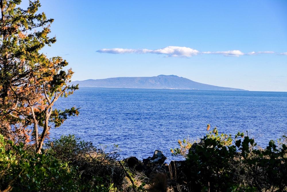 城崎海岸 遠方的伊豆大島
