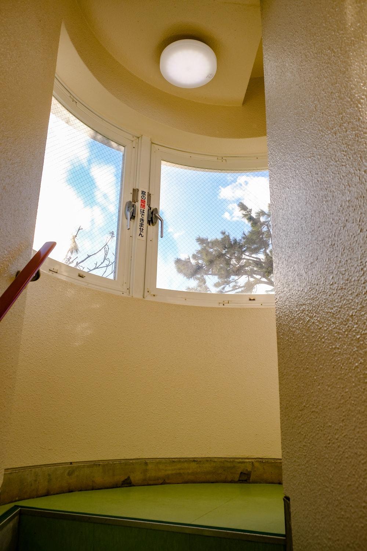 城崎海岸 門脇燈台 內部階梯