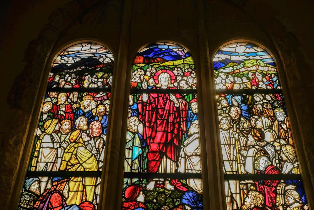 那須高原Michael Resort Court 教堂 玻璃窗戶 St.Marries Chapel