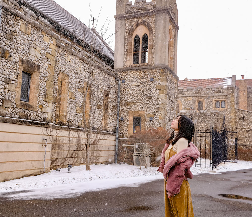 日劇《無法成為野獸的我們》取景地教堂:那須高原Michael Resort Court