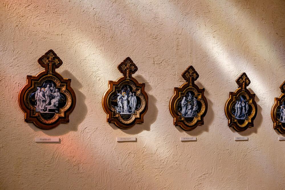 那須彩繪玻璃美術館 聖拉斐爾教堂