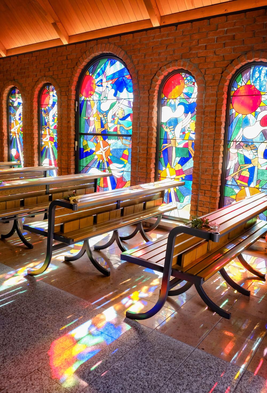 那須藤城清治美術館 教堂