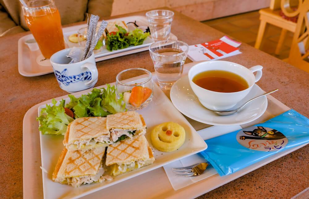 那須藤城清治美術館 咖啡 料理
