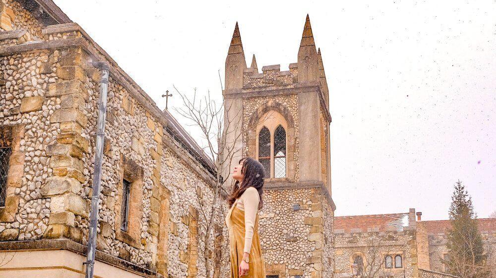 日劇《無法成為野獸的我們》取景地教堂,雪中浪漫的「那須高原Michael Resort Court」