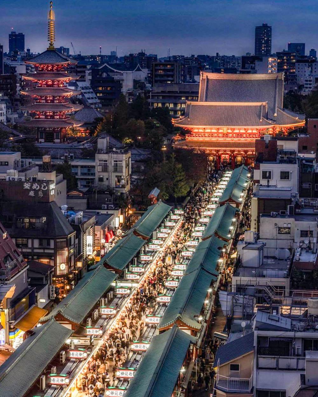 淺草文化觀光中心(淺草)夜景
