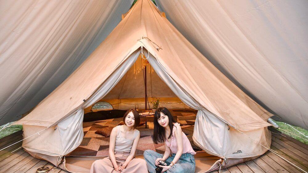 屏東粮田集市 │ 集結草地、帳棚、沙發與美食,體驗戶外露營式野餐風