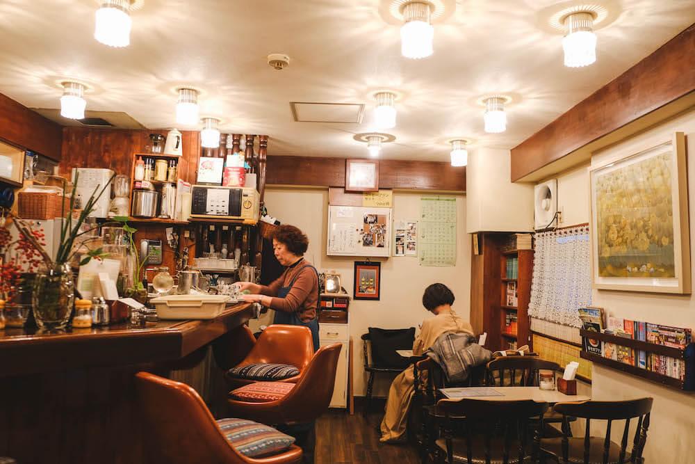 虎之門老式咖啡館「ヘッケルン」