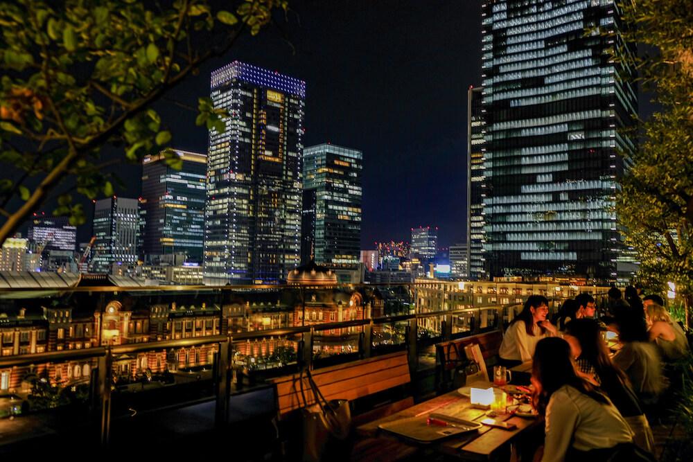 東京車站新丸之内大廈(東京) 夜景