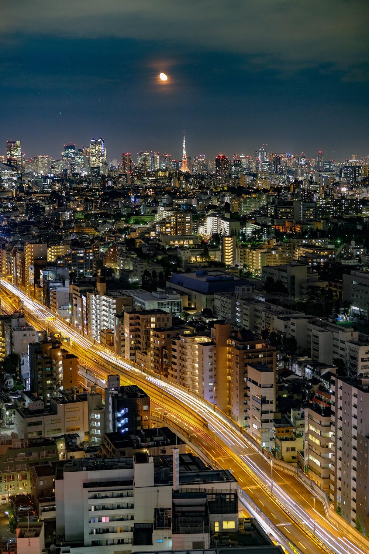 胡蘿蔔塔(三軒茶屋) 夜景