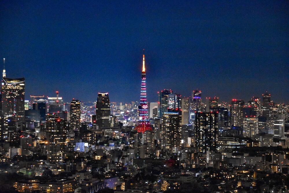 惠比壽花園廣場大樓(惠比壽) 夜景