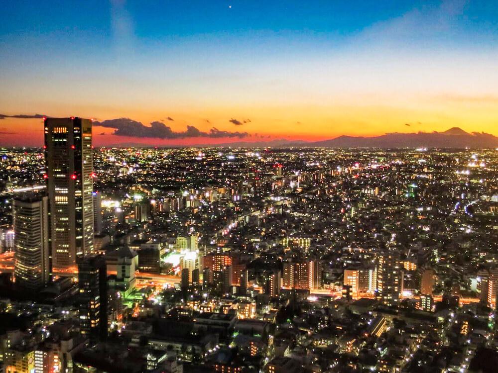 新宿都廳(新宿) 夜景
