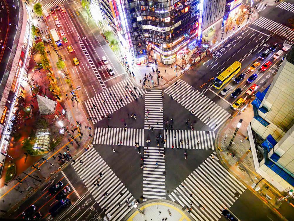 銀座東急Plaza(銀座)夜景