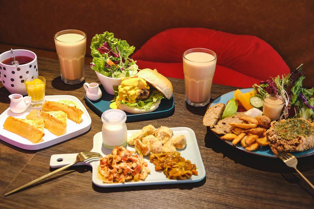 鹿境早午餐 Arrival Brunch & Cafe 料理 餐點