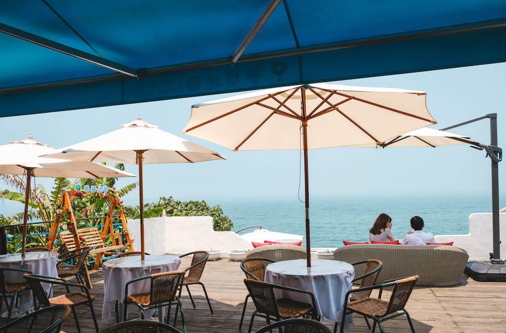 夢想地圖Cafe海景會館 戶外座位區