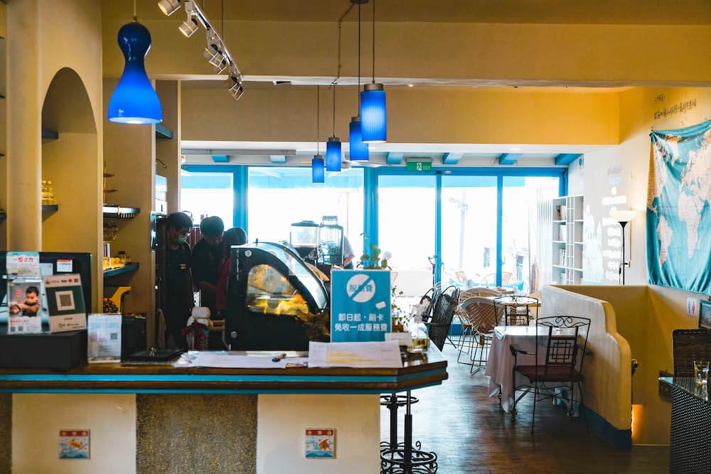 夢想地圖Cafe海景會館 內部座位