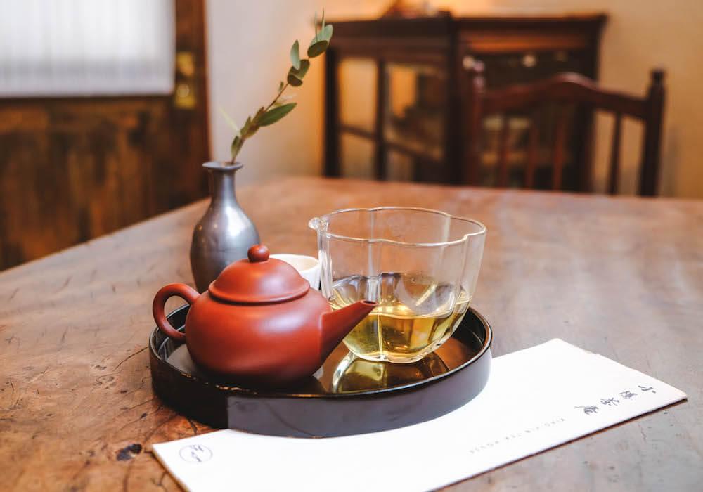 台北東門|復古美學茶屋「小隱茶庵」