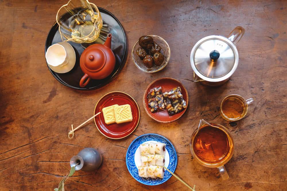 台北東門|復古美學茶屋「小隱茶庵」 山喜套餐
