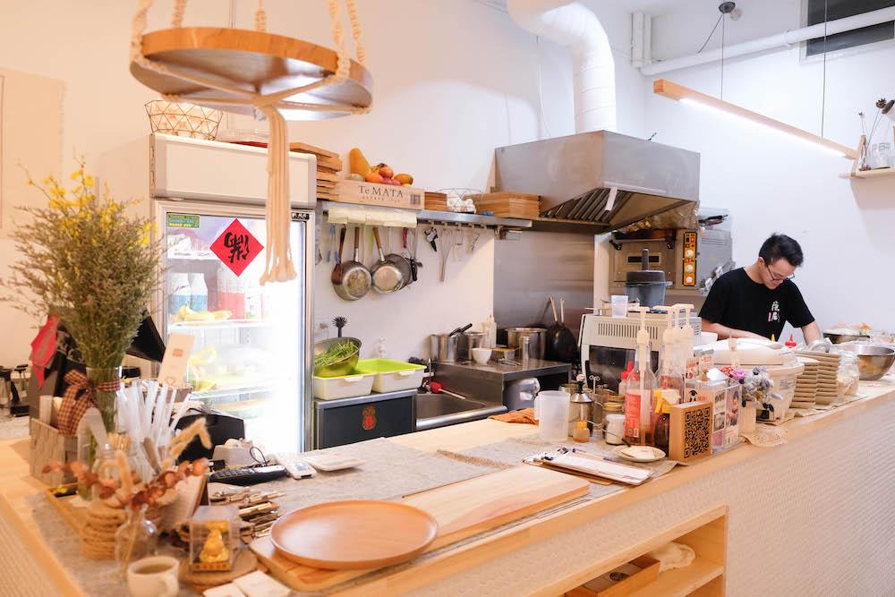 板橋府中・朝食午宴Just Brunch 廚房