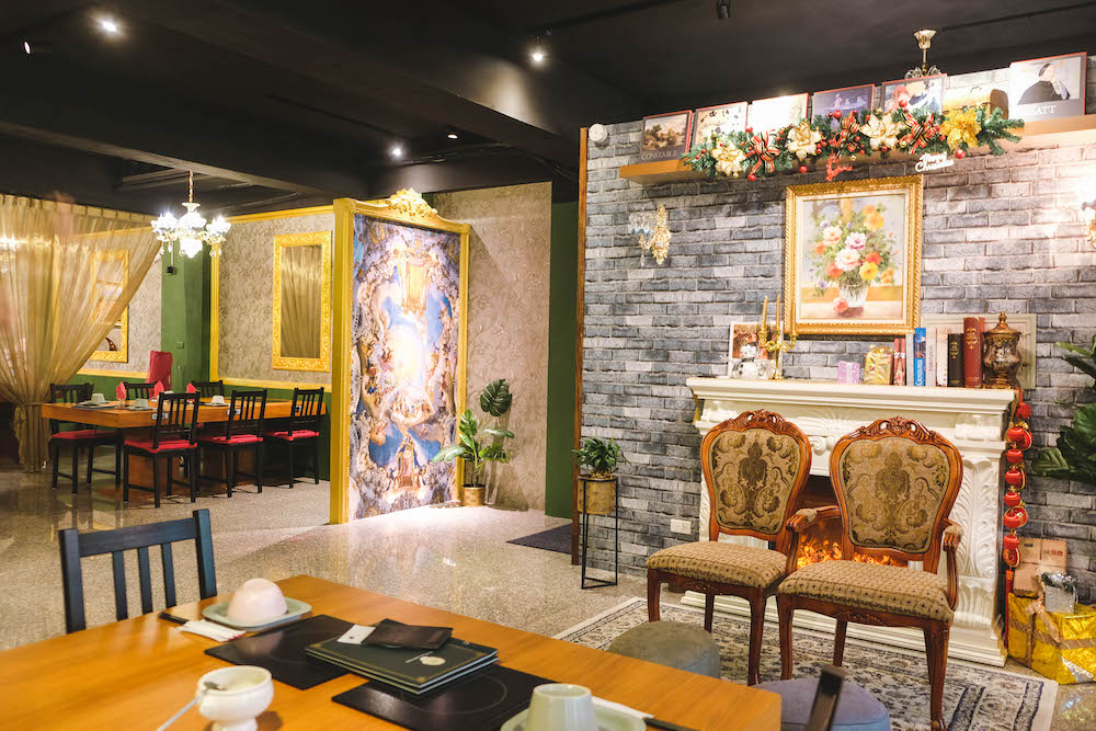 喜園涮涮鍋.林口歐風店|用餐環境(二樓)