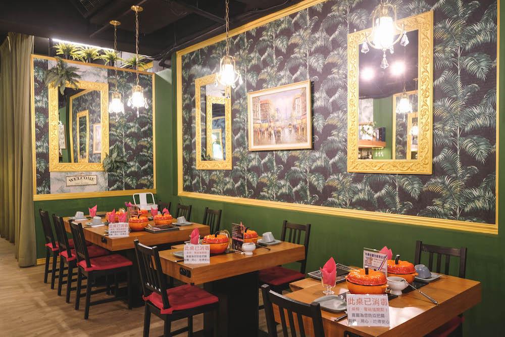 喜園涮涮鍋.林口歐風店|用餐環境