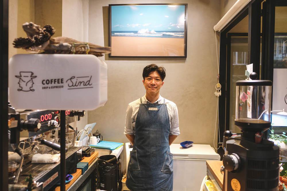 台北忠孝新生「Coffee Sind」專訪:手沖咖啡與多肉植物圍繞的溫馨小空間