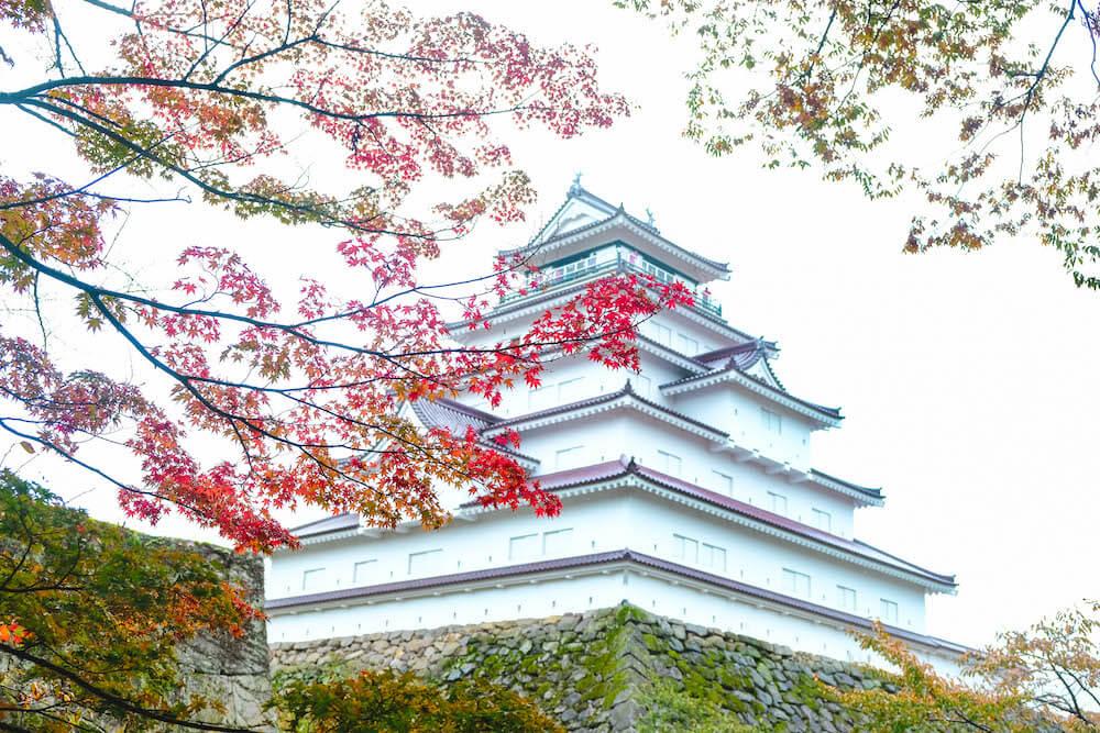 福島・會津若松|鶴之城紅葉