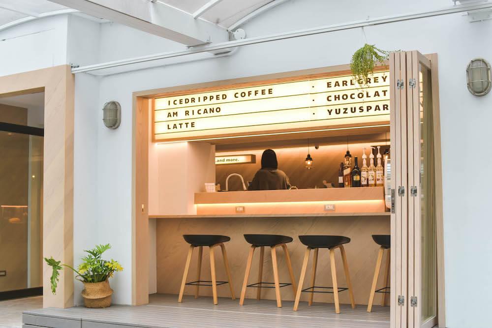 南京復興「Milk Bar By BKA」不限時複合式質感咖啡廳|結合講座、咖啡、展覽、書籍、選物