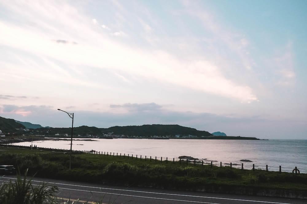 2020夏季星光夜騎・深澳八斗子鐵道自行車,愛心光雕隧道沿海點燈
