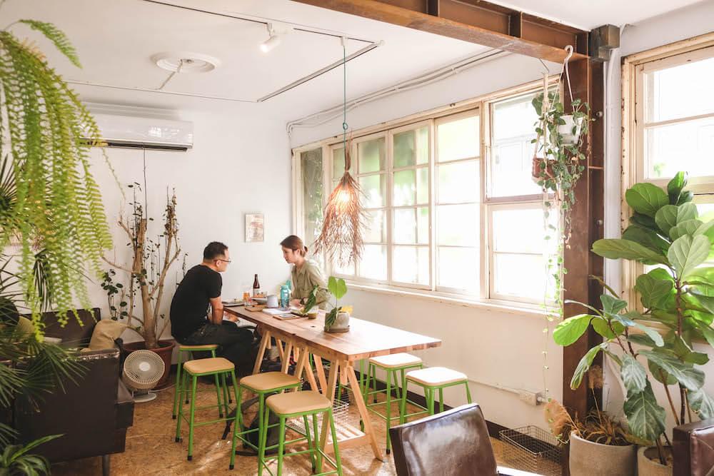 新竹・江山藝改所|藝術家的秘密基地,巷弄老宅咖啡&複合式藝文展演空間